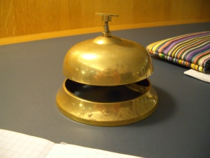 Photo of table bell