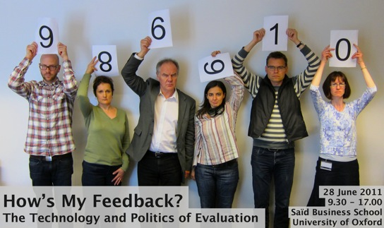 How's My Feedback? - The Technology and Politics of Evaluation